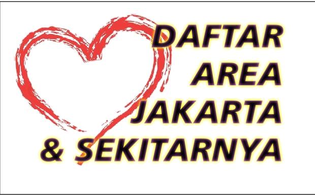 Daftar Area Jakarta,Banten & Sekitarnya