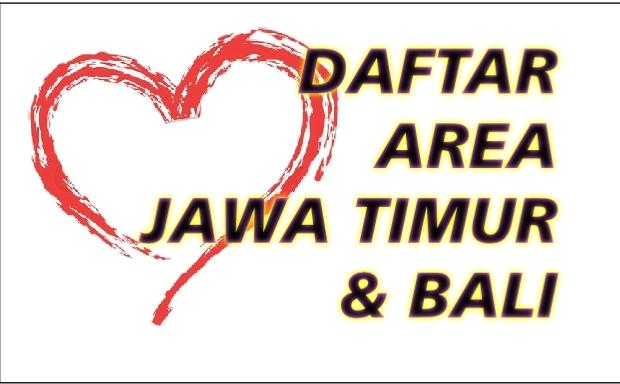 Daftar Area Jawa Timur & Bali