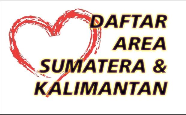 Pesan Area Sumatera & Kalimantan